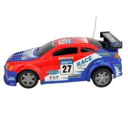Caliente-venta Coche de Control Remoto Eletric Light Flash Car Bling Tire Automobile Race Car Juguetes Niños Niños Regalo Envío Gratis desde fabricantes