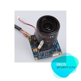 Wholesale Ccd Dsp Color - Color 3.5-8mm Vari-focus SONY Effio DSP CCD OSD Camera Multilingual