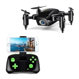 Wholesale Folding Maps - GouGouShou mini small four-axis unmanned aerial aerial photography aircraft folding special effects aircraft wifi map transmission