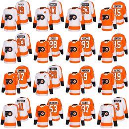 Wholesale Hockey Flyer - 2018 Philadelphia Flyers Hockey Jerseys 28 Claude Giroux 53 Shayne Gostisbehere 17 Wayne Simmonds 93 Jakub Voracek 19 Nolan Patrick Jerseys