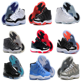 Wholesale Red Rose Boots - 2016 High Quality Retro 11 Man Basketball Shoes 72-10 space countdown pack infrared 23 concord legend blue gamma blue sport sneaker Boots