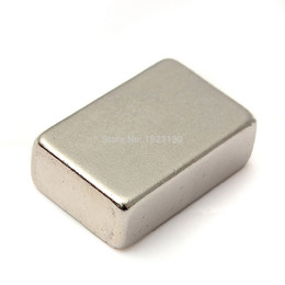 Wholesale Strong Block Magnets - Super Powerful Strong Rare Earth Block NdFeB Magnet Neodymium N50 Magnets 30mm x 20mm x 10mm N50 order<$18no track