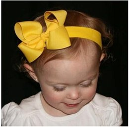 Wholesale Christmas Stick Photo Props - Christmas hair bow Baby Girl Headbands Flower Headbands Photo Prop Baby Shower hair accessories 12pcs HB179