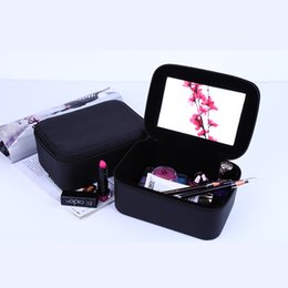 Wholesale Professional Jewelry Storage - Cosmetic Cases High Quality Storage Waterproof Storage Makeup Bag Jewelry Box Professional Women Makeup Organizer Free Shipping
