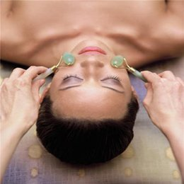 Wholesale Head Eyes Massager - Massager Jade Roller Slimming Tool Facial Face Massage Tools Facial Eye Feet Body Head Relax Massage Beauty Health Tools New free shipping D