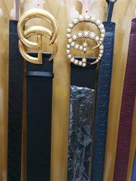 Wholesale Women Width Belt - 7cm width belt large buckle Brand Belts for Men and Women Designer Belt Luxury Cow Genuine Leather Belt Waistband