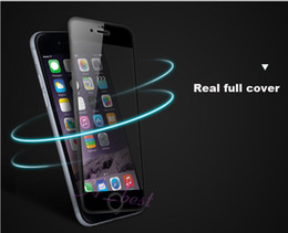 """Wholesale Body Guards Phone - Tempered Glass full front cover Screen Protector tempered glass film guard for cell phone iphone 6 4.7"""" plus 5.5"""""""
