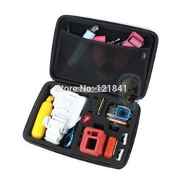 Wholesale Telesin Gopro - Large Size GoPro Case 3 TELESIN 4.0 Bag POV Gopro Camera Bag Case For Gopro Hero 3 3+ 2 HD Accessories Black