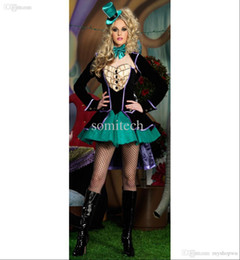 Wholesale Cheap Cosplay Costumes For Sale - Wholesale-2015 New Arrival Fashion Halloween Costumes For Women Fantasias Cosplay Clothes Set Cheap Hot Sale Free Shipping