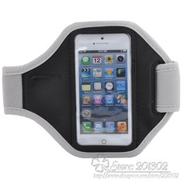 2019 неопреновые мешки оптом Wholesale-50pcs/lot Wholesale Waterproof Neoprene GYM Sports Running Armband Case Cover for  5 5S Phone bags cases Mix colors дешево неопреновые мешки оптом
