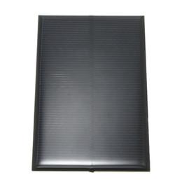 Wholesale 5v Mini Solar Cells - 5V 1.25W 250mA Monocrystalline Silicon Epoxy Solar Panels Module kits Mini Solar Cells For Charging Cellphone Battery 110x70mm