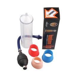Wholesale Sex Male Penis Pump - Handsome Up Powerful Vacuum Penis Pump Male Enhancement Enlargement Sex Toys Adult Products Pumps Toys MF110903