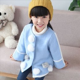 Wholesale Winter Jacket Brands Korea - baby autumn winter coats girls fashion outwear childrens korea style clothing kids clothes wholesale infant toddler trench winter jackets 2