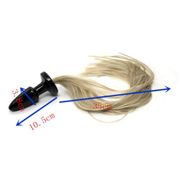 Wholesale Horse Tail Anal - Sex Horse Tail Anal Plug,Silicone Fox Tail Butt Plug,Sex Toys For Women,Adult Products For Couples