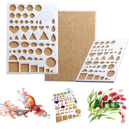Wholesale Board Cutter - scrapbooking clips Paper Quilling Template Mould Board Papercraft DIY Crimper Art Tool Scrapbooks scrapbook cutter scrapbooking clips