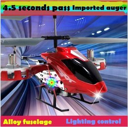 Wholesale Ir Remote Control Helicopter - Free Shipping 4CH RC Helicopter Micro Toy Aircraft Remote Control Distance About 10m AVATAR SG8808 IR Remote Controllled Electric