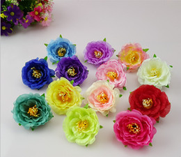 Wholesale Wrist Rose Bridal - 2016 Rose small flowers simulation tea rose wrist corsage flowers silk flower bridal wreath making HJIA031