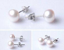 Wholesale Pearl Earrings 11 Mm - 10-11 MM SOUTH SEA GENUINE WHITE PEARL EARRING 14K SOLID WHITE GOLD MARKED+BOX
