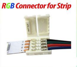 dc-klinkenstecker Rabatt RGB-LED-Streifenverbinder LED für RGB-LED-Streifen 5050 3528 LED-Lichtverbinder