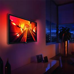 USB Power 5 V LED Strip Light 50 CM HDTV TV Fondo Bias lámpara SMD 5050 Inicio DIY Decoración Strip Light IP65 desde fabricantes