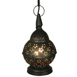 Wholesale Iron Morocco - Morocco Iron Hallway Balcony Pendant Light Village Dining Room Pendant Lights Cafe Bar Pendant Lamp Chandelier