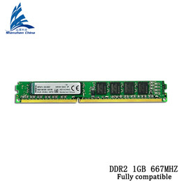 Wholesale Ddr Memory Ram 2gb - DDR2 1GB 800MHZ Brand New Sealed DDR DDR2 2GB NEW PC-5300 6400U Desktop RAM Memory   can compatible with all PC