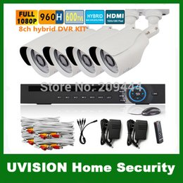 Wholesale 3g Security Camera System - HD 1080P 960H 8Channel video surveillance 8ch onvif NVR for IP camera DVR Kit 8ch CCTV 800TVL security camera system p2p 3g