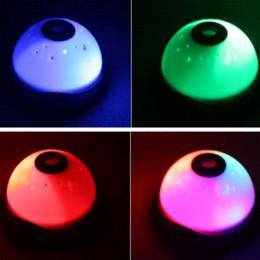Wholesale Modern Metal Clock - Free Shipping Starry Digital Magic LED Projection Alarm Clock Night Light Color Changing hv3n alarm clock metal