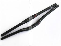 Wholesale Bars Handlebars - EC90 Full Carbon Fiber MTB road Bicycle Handlebar mtb mountain bike Flat rise bent bar 31.8*600 620 660 680 700 720 740mm bicicleta
