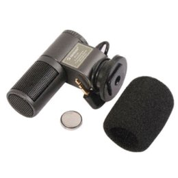 Wholesale Stereo Microphone For Camcorder - Pro SG-107 External Stereo Microphone for Canon Nikon DSLR Camera DV Camcorder Microphones Cheap Microphones