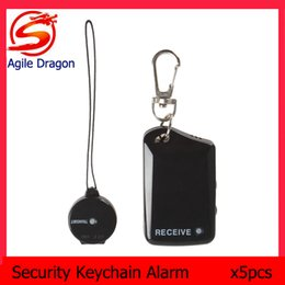Wholesale Security Lost - 5PCS Wireless Electronic Anti-theft Anti-Lost Security Keychain Safety Alarm for Child   Pet   Luggage LIF_819