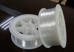 Wholesale Optical Fiber Rolls - Wholesale-High Quality Low Loss Stary PMMA POF Plastic Optical Fiber EndGlow Cable roll for Ceiling Lighting 0.25mm 12000M Spool
