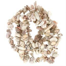 Wholesale Howlite Semi Precious Stones - Wholesale-Semi Precious Gem Stone Strands Howlite 4-8mm 90cm 35'' Necklace Bracelet Various Beautiful Stones Available Free Shipping