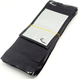 handy-ladegerät zubehör Rabatt 500pcs / lot Wholesale clear + black Kleinverpackungs-Plastiktasche für Handy-Kastenautoladegerät Zusätze Verpackungsbeutel 20 * 11.5cm