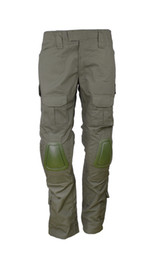 Wholesale Hunting Knee Pants - TACTICAL BDU GEN2 COMBAT PANTS WITH KNEE PADS AIRSOFT HUNTING PANTS army green-36255