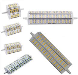 Wholesale R7s Base - 5050 R7S base LED corn bulb 24 36 42 60 72 84 pcs SMD 5050 LED corn bulb 6W 10W 12W 15W 18W 25W 110V~240V white warm white