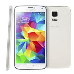 Галактика s5 quad core онлайн-Восстановленное Оригинал Samsung Галактики S5 в i9600 G900F G900A G900V G900T G900V с оригинальной батареи четырехъядерный 2 ГБ/16 ГБ с 4G LTE в АТТ Т-Mobile