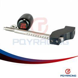 Wholesale B16 Civic - PQY STORE-Blakc Adjustable Height Short Shifter With Black shift knob For Civic Integra CRX B16 B18 B20 D16