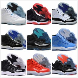 Wholesale Advanced Shoes - 11 UNC Chicago concord red bred Legend gamma blue pantone 11s XI men women basketball shoes sneakers Advanced Quality Version