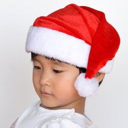 Wholesale Cloche Crochet Wholesale - New crocheting plush children & adult soft warm Christmas hat factory direct wholesale Christmas supplies Christmas gifts