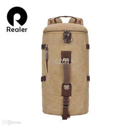 Wholesale Large Capacity Military Backpack - Wholesale-2015 New Men Large capacity Canvas Backpack, Tactical Military Men Bag, Men's Travel Bags, Mountaineering Backpacks rucksack