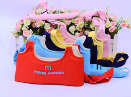 Wholesale Harness Walking Reins - Baby Toddler Walking Assistant Learning Walk Safety Reins Harness Mom Carrier Brand New Good Quality Free Shipping