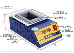 Wholesale Tin Solder Pot - Digital Preheating Soldering Pot   Preheat Station Square Tin Pot 900W CM-150s