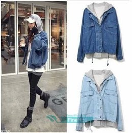 Canada Women S Hooded Denim Jacket Supply, Women S Hooded Denim ...