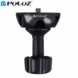 Wholesale Rig For Dslr - Sports Camera Accessories 75mm Half Ball Flat To Bowl Adapter for Fluid Head Tripod DSLR Rig Camera, Metal Material