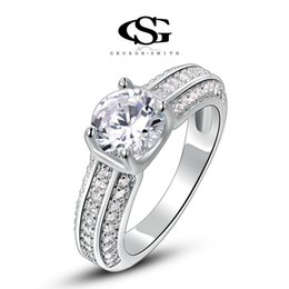 Wholesale Women S Wedding Rings - 015 G&S party jewelry gift Platinum Plating Fashion Classic Wedding Rings Arrow Rings For Women Fashion Jewelry women rings