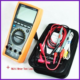 Wholesale Digital Multimeter Free - M001 VC97+ auto range DMM AC DC Voltmeter Capacitance Resistance digital Multimeter VS FLUKE15B FREE SHIPPING