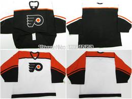 Wholesale Kids Size Hockey Jerseys - Mens&kids&womens customize philadelphia flyers jersey goalie cut Jersey home away jersey customize swen on Any Name & NO. Size