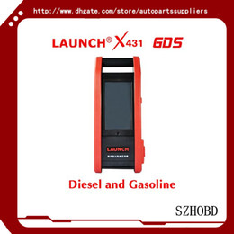 Wholesale Car Diagnotic Tools - Launch X431 GDS Professional Car Diagnotic Tool Multi-functional WIFI X-431 GDS Auto Code Scanner (Diesel and Gasoline) update by Email