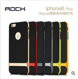 Wholesale Neo Hybrid Bumper Iphone 5s - 2015 Rock Neo Hybrid Hard Bumper Soft TPU Silicone Environmental Back Cover Case For iPhone 6 Plus 5 5S Samsung Galaxy S6 edge Note 4